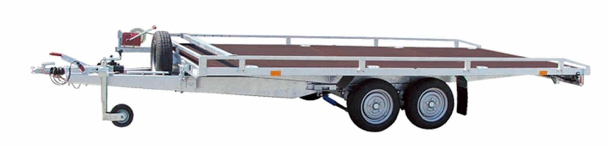 Přepravní přívěs Agados AD 3,5 plato