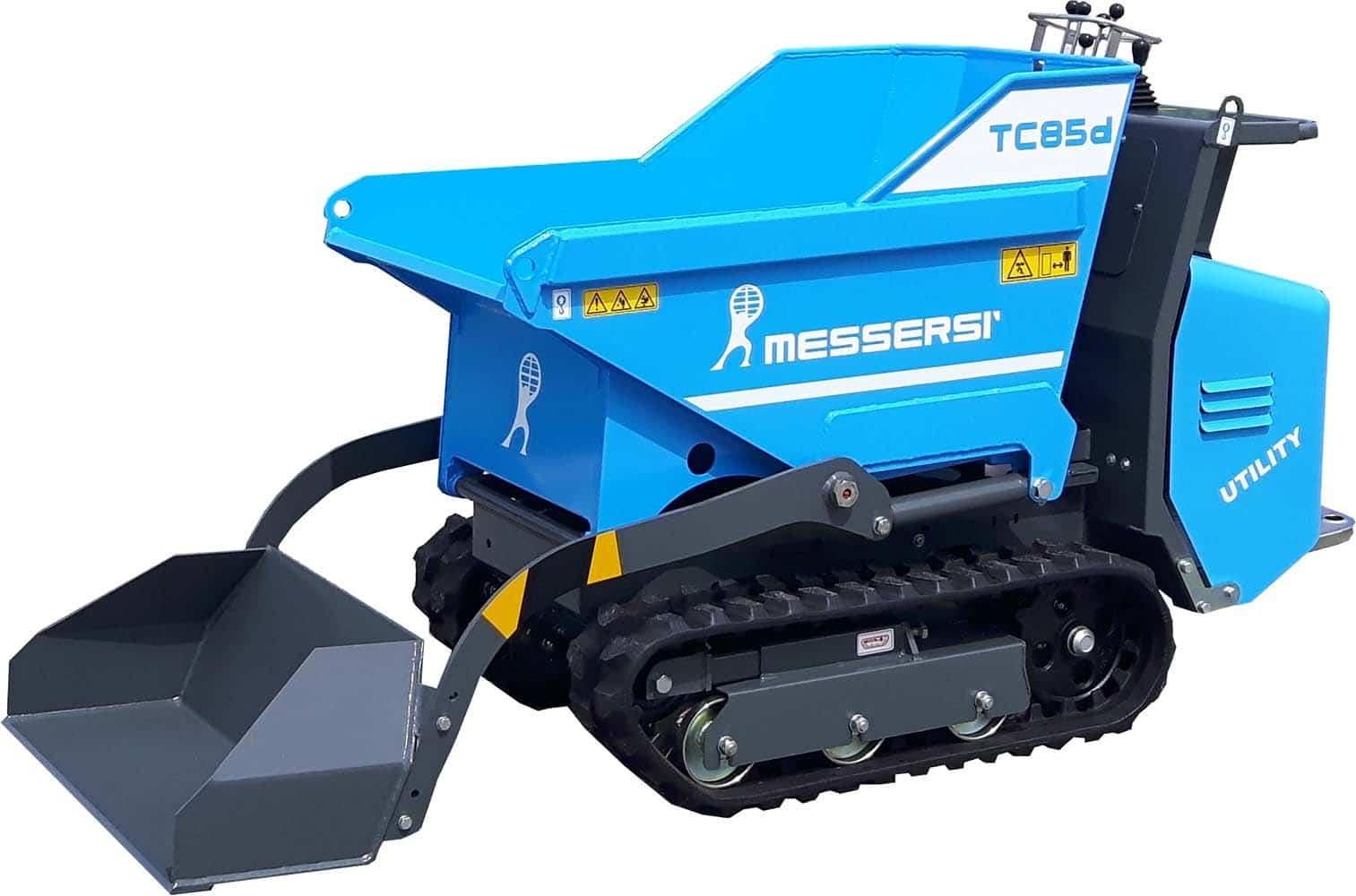 Pásový minidumper Messersi TC 85d