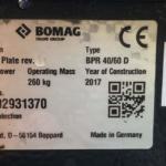 Vibrační deska BOMAG BPR 40/60 D - 2