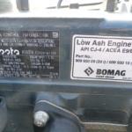 Ježkový válec BOMAG BMP 8500 - 11