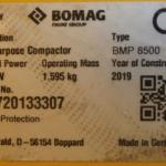 Ježkový válec BOMAG BMP 8500 - 1
